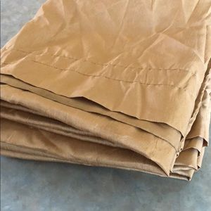 Other - Semi sheer gold curtains, 4-40 x 86 panels